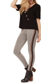 Dex Houndstooth Legging w Side Tape - Product Mini Image