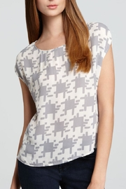 Joie Houndstooth Posher Top - Product Mini Image