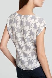 Joie Houndstooth Posher Top - Front full body