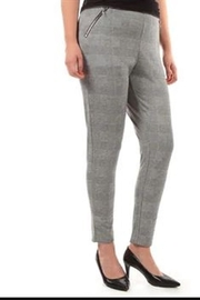 Dex Houndstooth Pull-On Pants - Product Mini Image