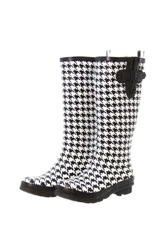 Shoptiques Product: Houndstooth Rainboots