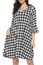 KITTY COUTURE  Houndstooth Strappy Tunic - Product Mini Image