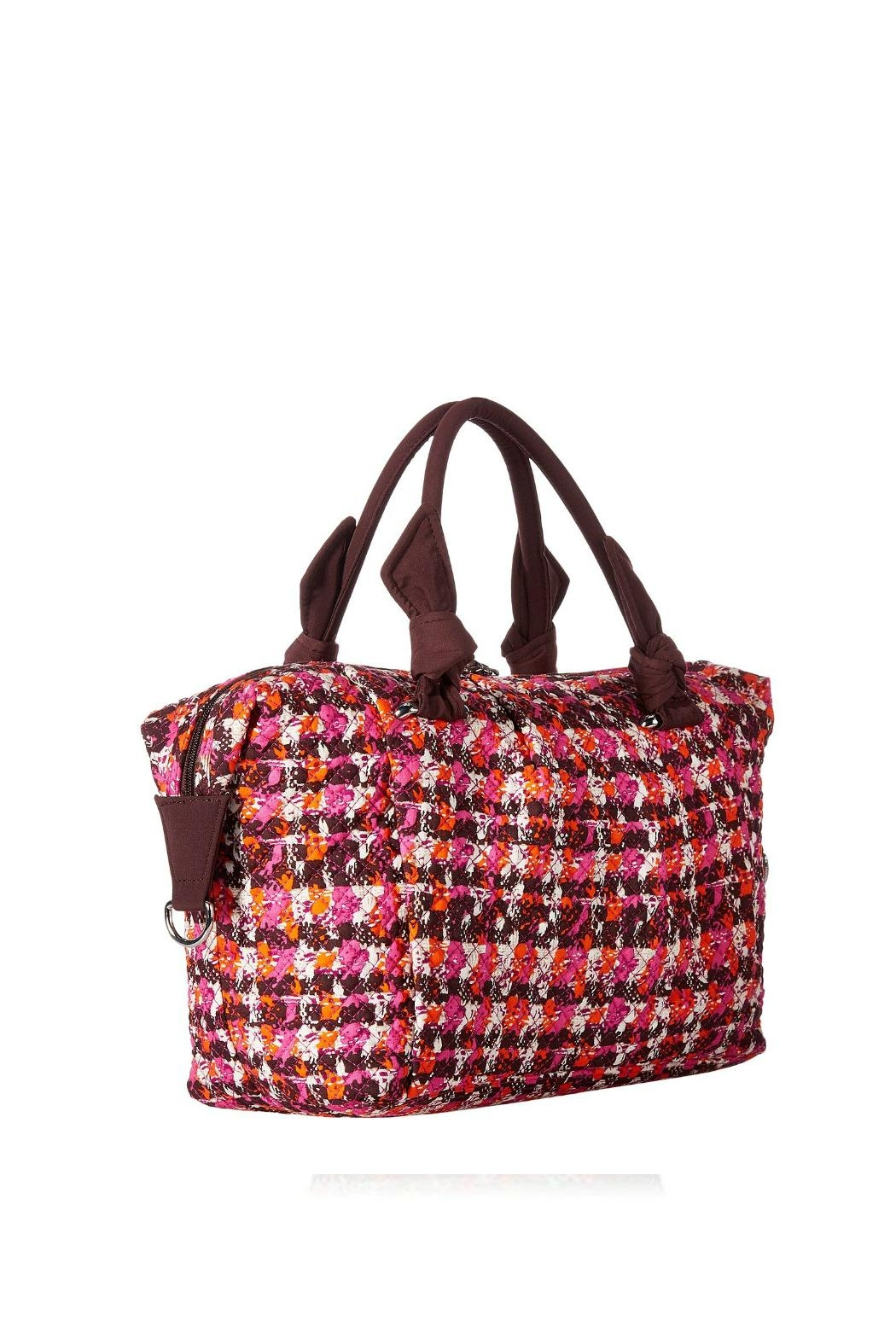 Vera Bradley Houndstooth Tweed Hadley - Side Cropped Image