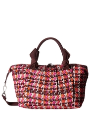 Vera Bradley Houndstooth Tweed Hadley-Satchel - Product Mini Image