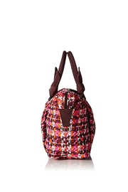 Vera Bradley Houndstooth Tweed Hadley - Front full body