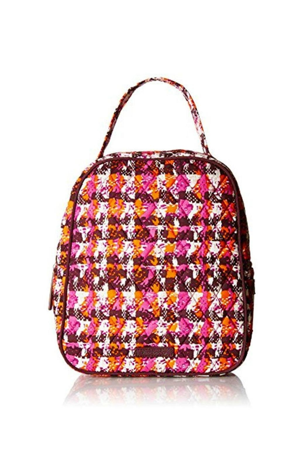 Vera Bradley Houndstooth Tweed Lunch-Bunch - Front Cropped Image