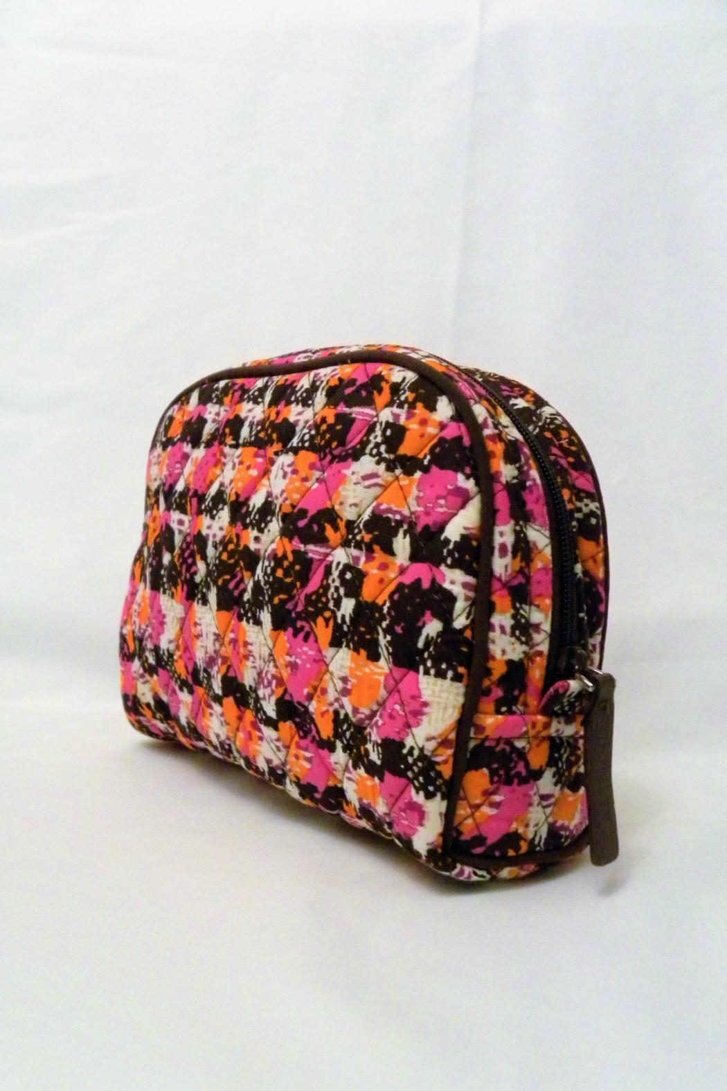 Vera Bradley Houndstooth Tweed Medium-Cosmetic - Front Full Image