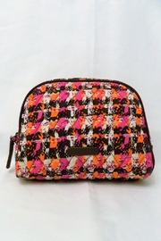 Vera Bradley Houndstooth Tweed Medium-Cosmetic - Front cropped
