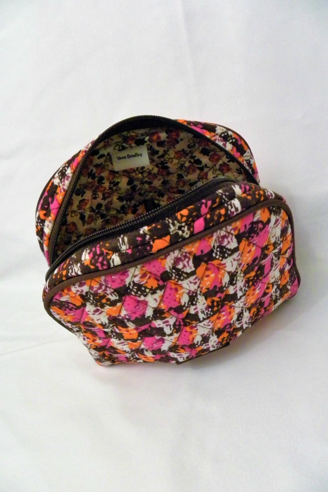 Vera Bradley Houndstooth Tweed Medium-Cosmetic - Side Cropped Image
