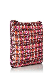 Vera Bradley Houndstooth Tweed Triple-Zip - Front full body