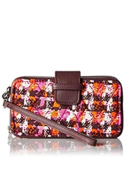 Vera Bradley Houndstooth Tweed Wristlet - Product Mini Image