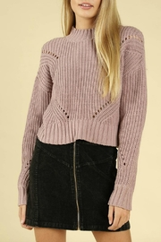 Pretty Little Things Hourglass Cropped Sweater - Front cropped
