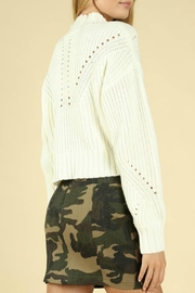 Pretty Little Things Hourglass Cropped Sweater - Front full body