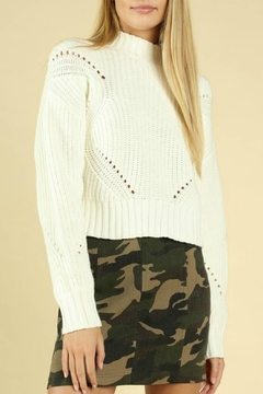Shoptiques Product: Hourglass Cropped Sweater