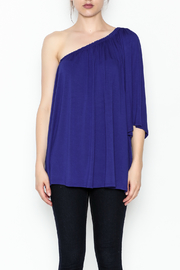 Hourglass Lilly One Shoulder Top - Front full body