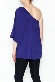 Hourglass Lilly One Shoulder Top - Back cropped