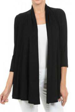 Hourglass Lilly Black Cardigan - Product List Image