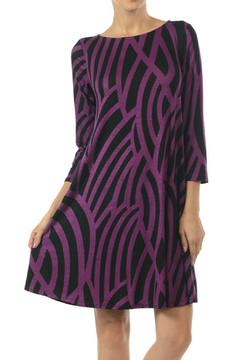 Hourglass Lilly Flared Curve Dress - Alternate List Image