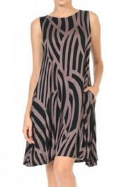 Hourglass Lilly Mocha Curve Dress - Product Mini Image