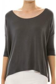 Hourglass Lilly Mol Black Top - Product Mini Image