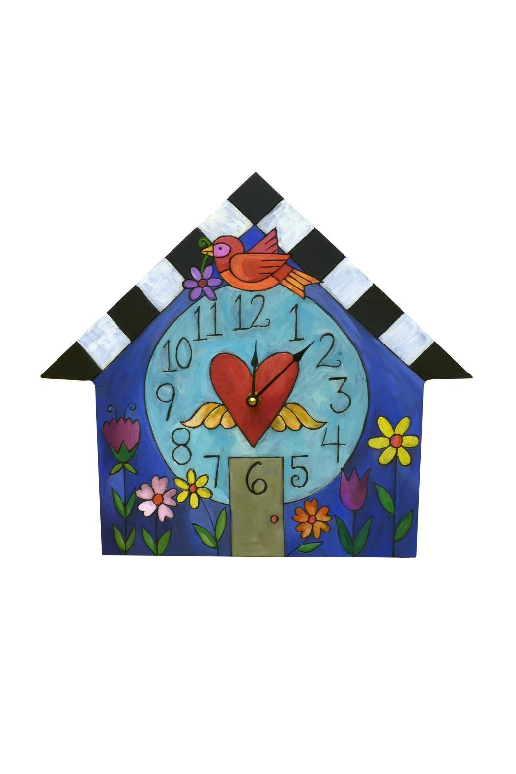 Sincerely, Sticks House Clock - Main Image