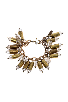House of Cach Brass Bullet Bracelet - Product List Image