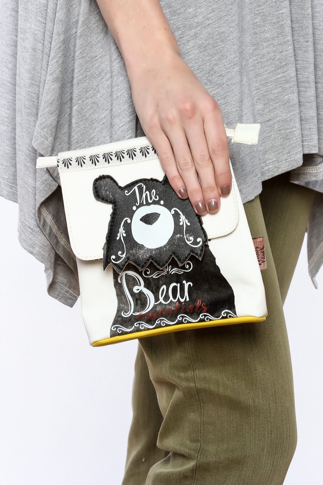 House of Disaster Bear Essentials Bag - Back Cropped Image