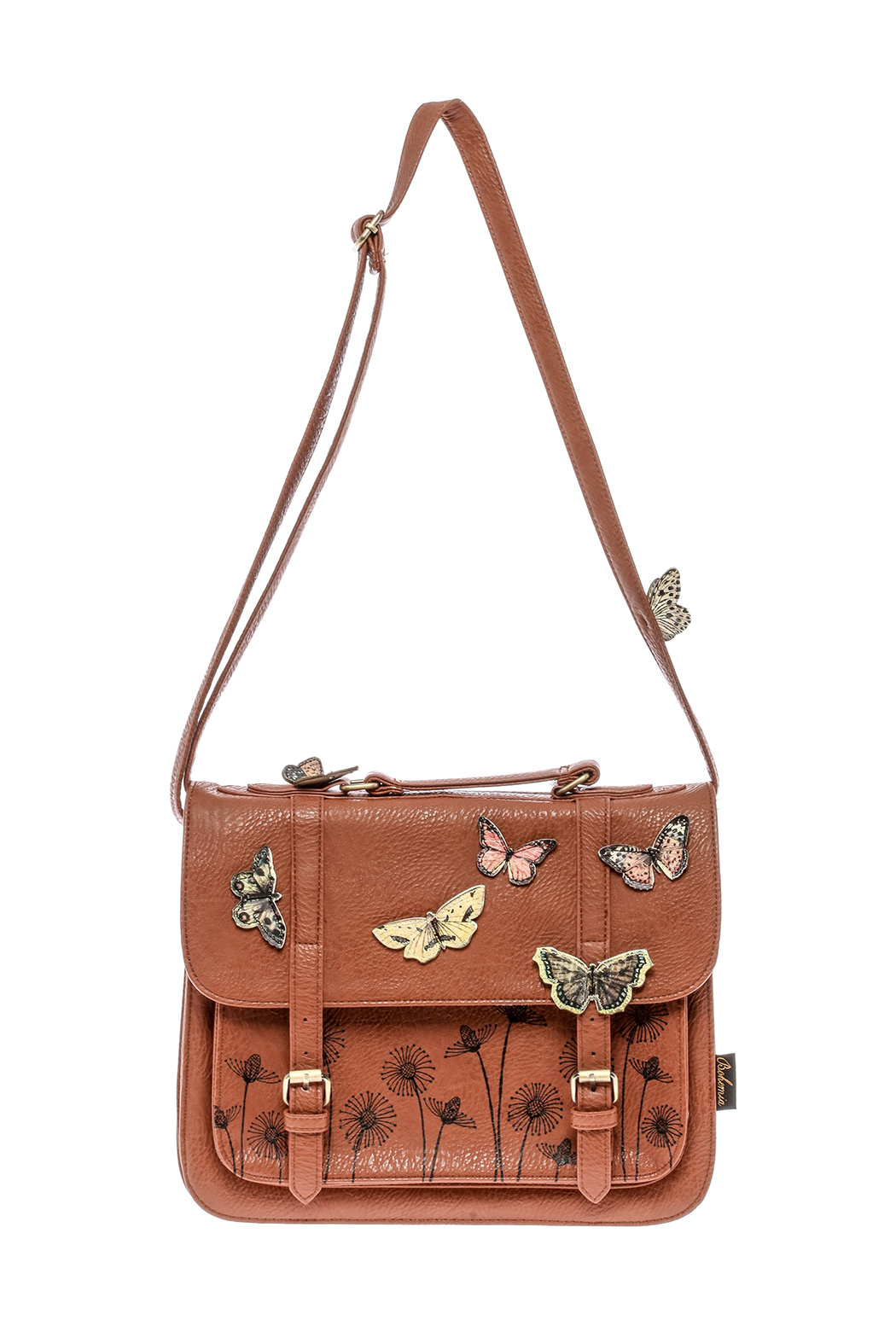 House of Disaster Brown Bohemian Bag - Main Image