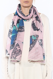 House of Disaster Lovely Butterfly Scarf - Back cropped