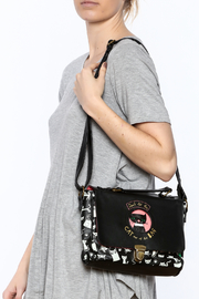 House of Disaster Cat Satchel Bag - Back cropped