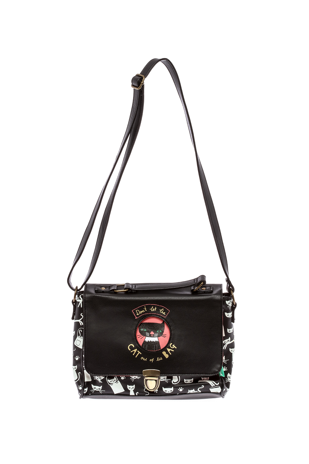 House of Disaster Cat Satchel Bag - Main Image