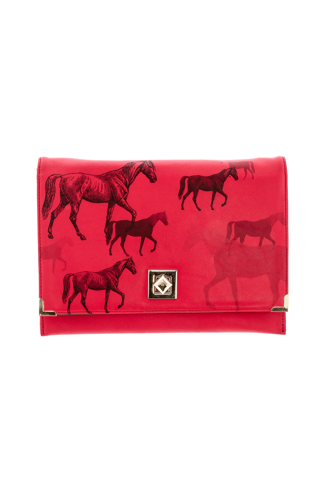 House of Disaster Horse Clutch Purse - Main Image