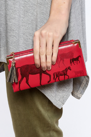 Shoptiques Product: Bold Horse Wallet - Front full body