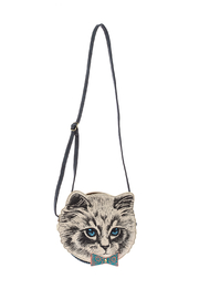 House of Disaster Meow Mini Bag - Front cropped