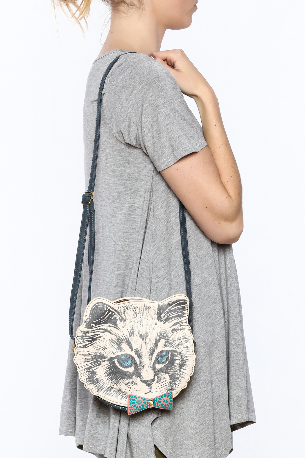 House of Disaster Meow Mini Bag - Back Cropped Image