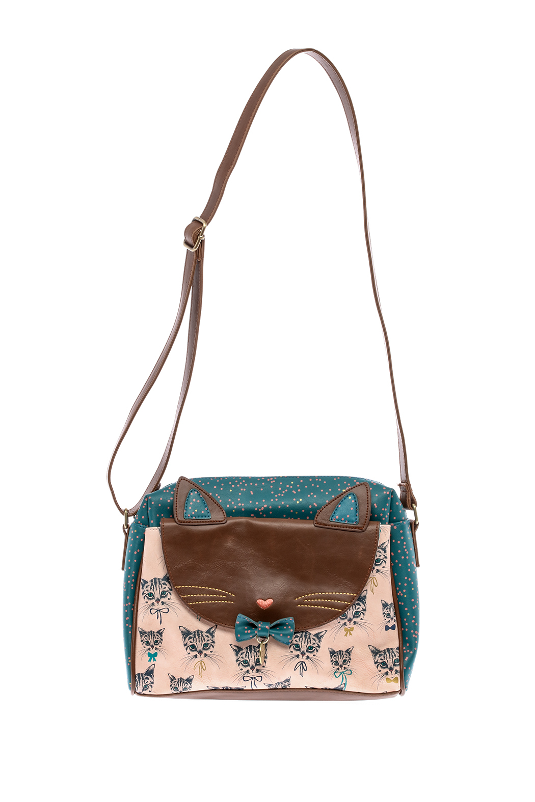House of Disaster Meow Satchel Bag - Main Image