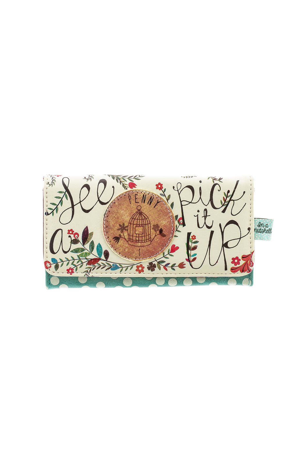 House of Disaster Cute Nutshell Wallet - Front Cropped Image