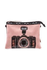House of Disaster Pink Selfie Bag - Product Mini Image