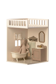 Maileg House Of Miniature Bath Room - Front full body