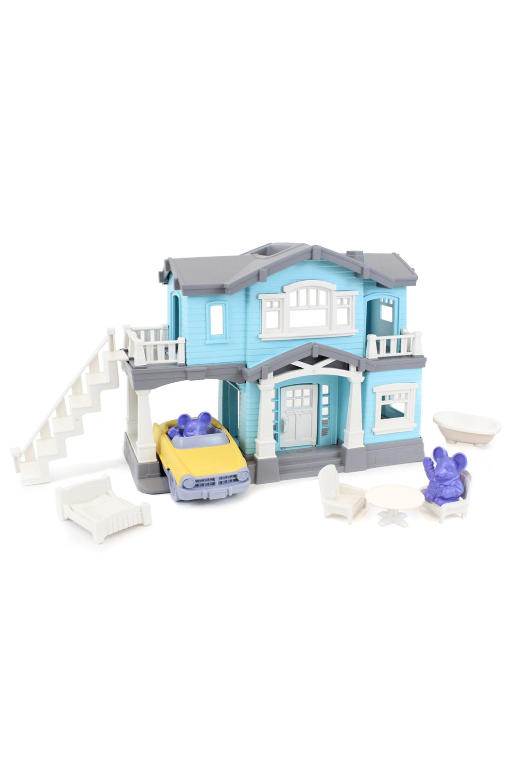 Green Toys House Playset - Main Image