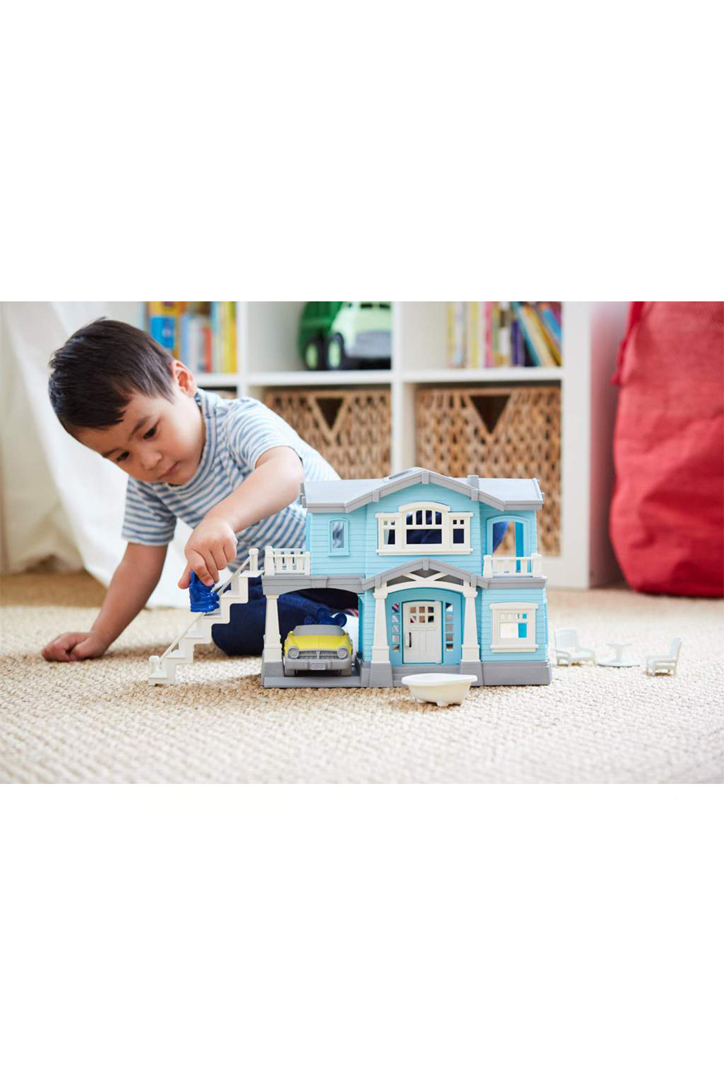 Green Toys House Playset - Side Cropped Image