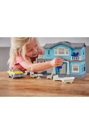 Green Toys House Playset - Back cropped