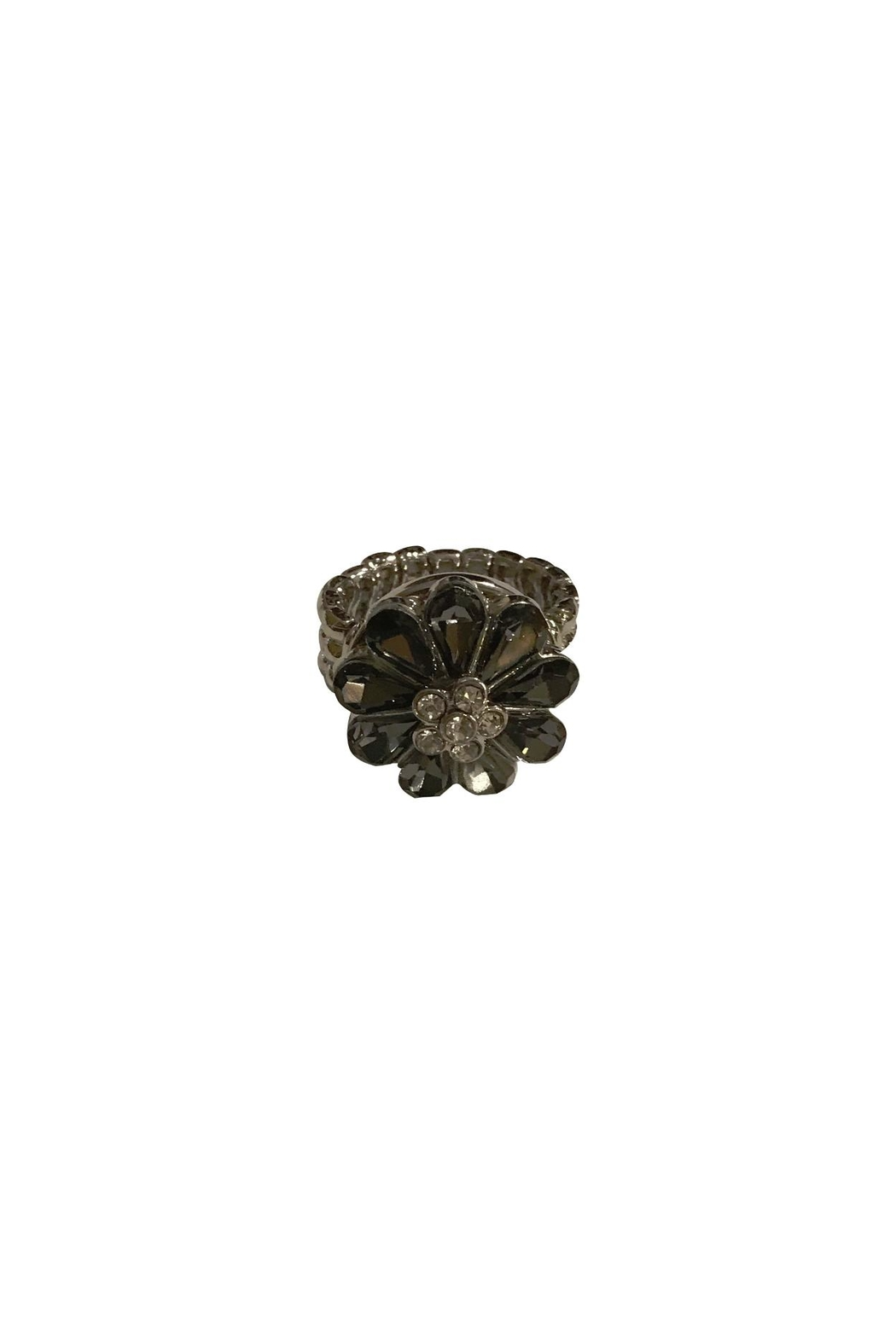 House and Garden Boutique Flower Snap Ring - Main Image