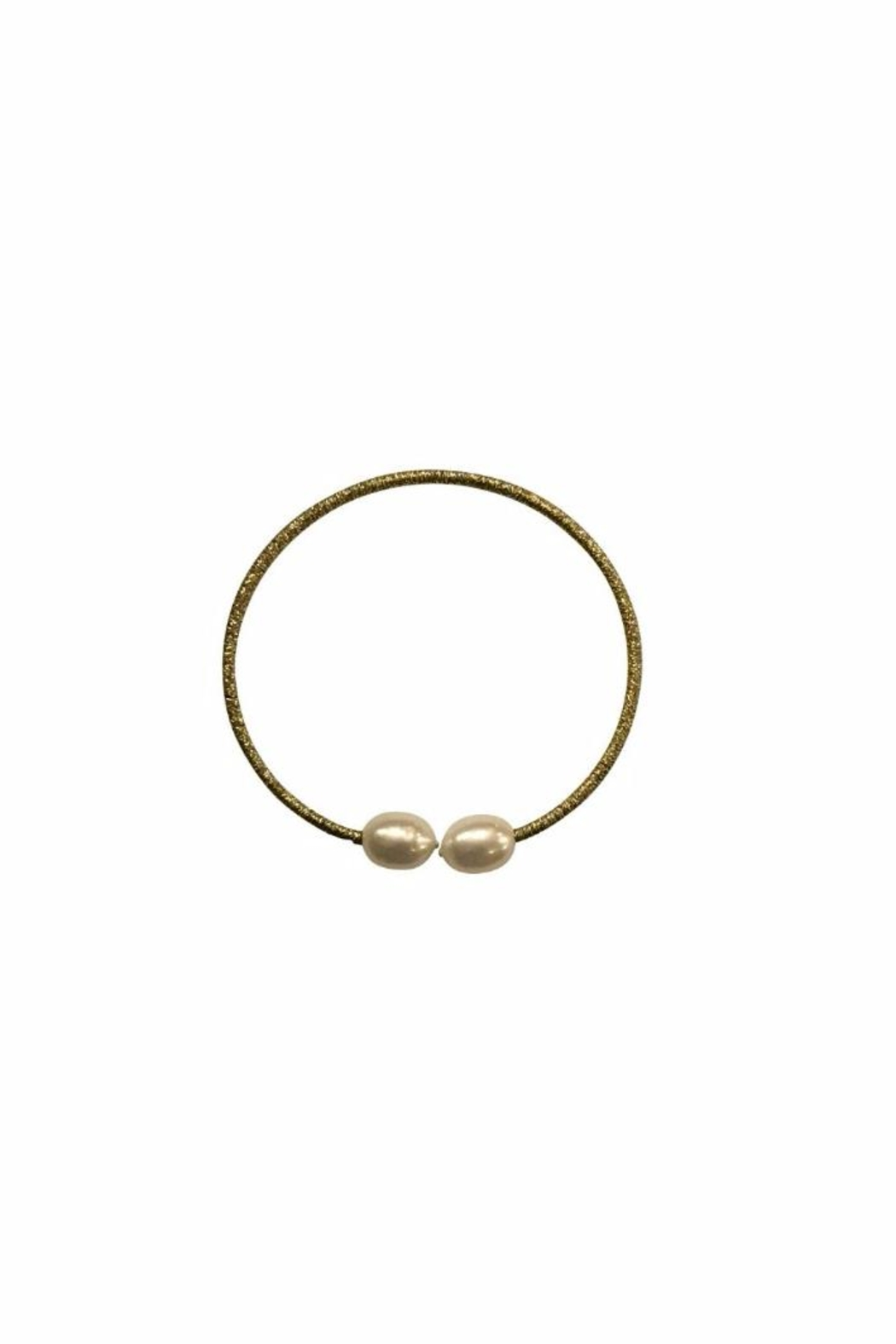 House and Garden Boutique Gold Pearl Bracelet - Main Image