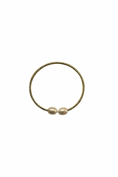 House and Garden Boutique Gold Pearl Bracelet - Alternate List Image