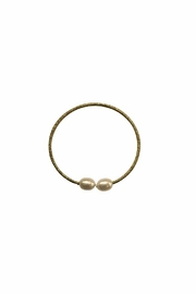 House and Garden Boutique Gold Pearl Bracelet - Product Mini Image