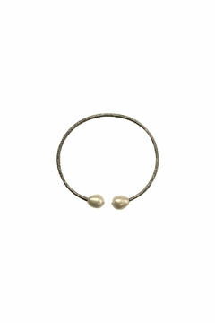 House and Garden Boutique Silver Pearl Bracelet - Alternate List Image