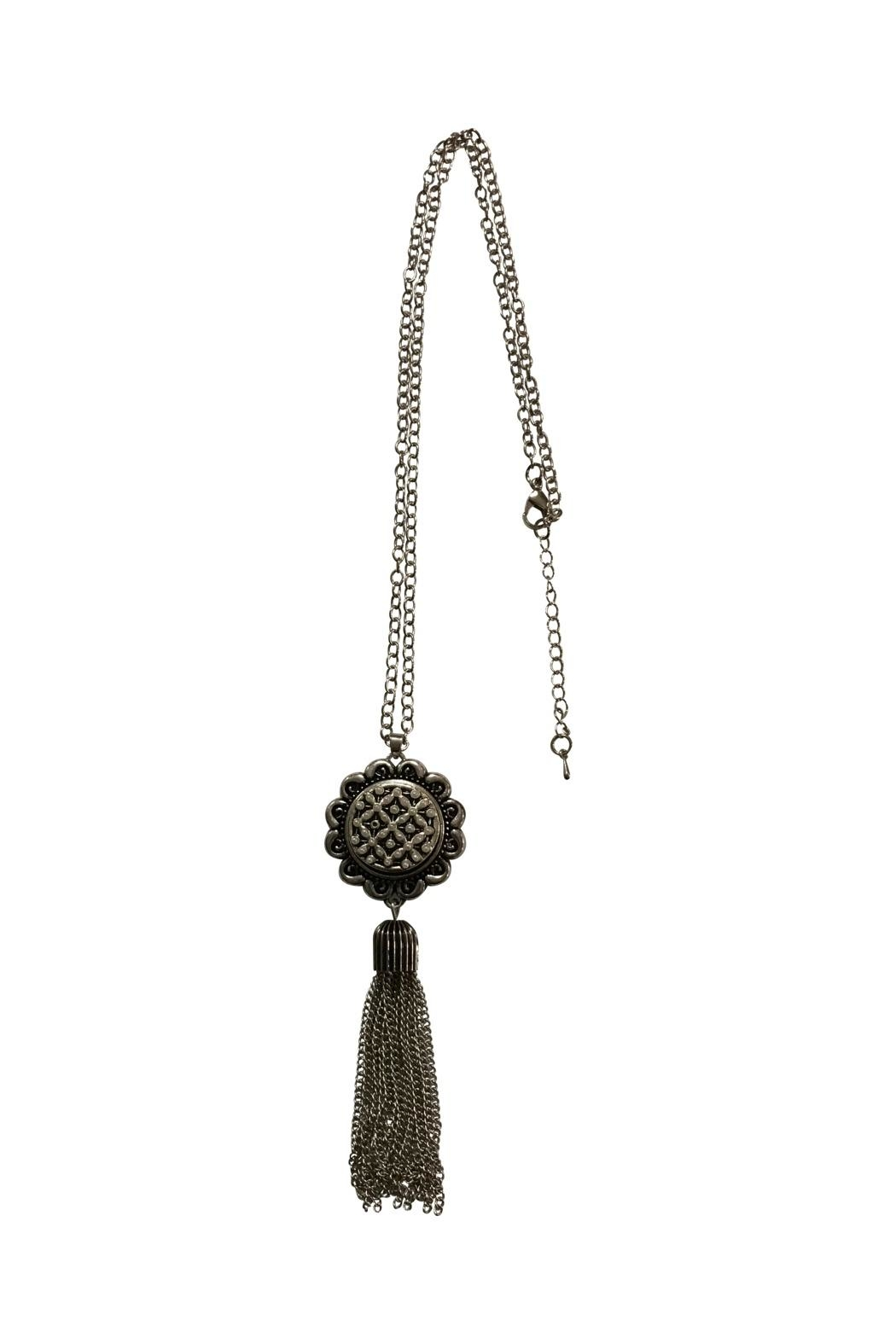 House and Garden Boutique Snap Tassel Necklace - Main Image