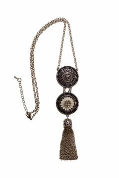 House and Garden Boutique Tassel Snap Necklace - Alternate List Image