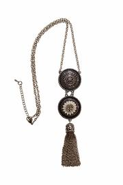 House and Garden Boutique Tassel Snap Necklace - Product Mini Image